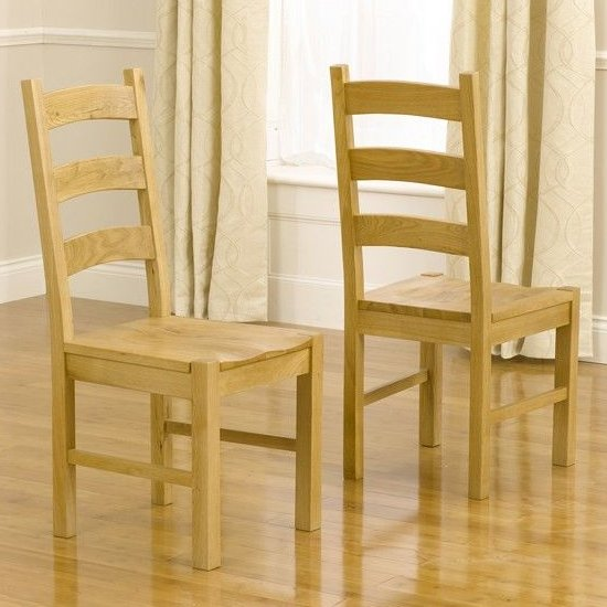 Segin Timber Dining Chairs In Pair