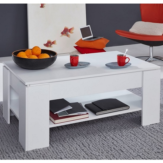 Seguin Wooden Coffee Table In White With Lift Up Top_2