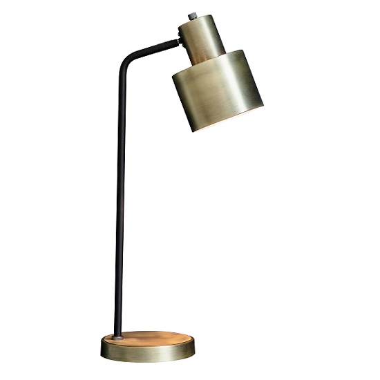 Selva Table Lamp In Brushed Brass Finish_2