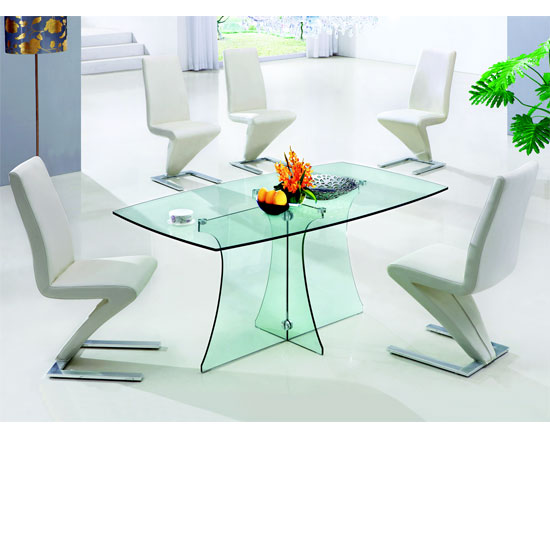 4 seater glass dining table and chairs 28 images 100  : sereneclrglassdining632 from americanhomesforsale.us size 550 x 550 jpeg 48kB