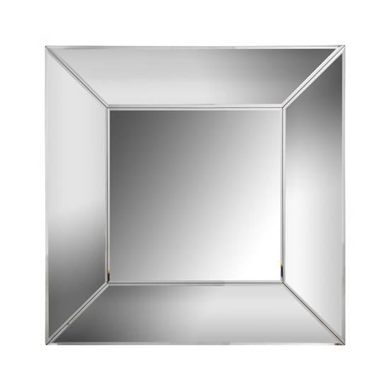 Serre Designer Large Square Wall Mirror