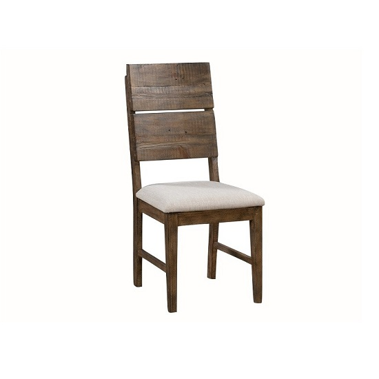 Sevilla Wooden Dining Chair In Dark Pine Finish