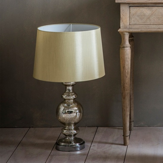 Shaddon Table Lamp With Metal Base