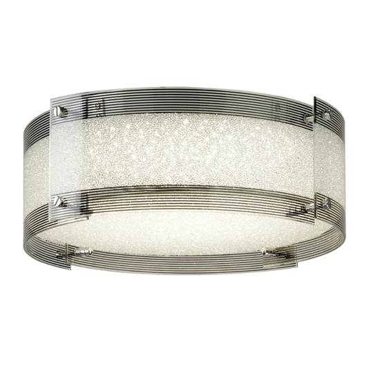Shelby Round Dimmable LED Flush Ceiling Light_1