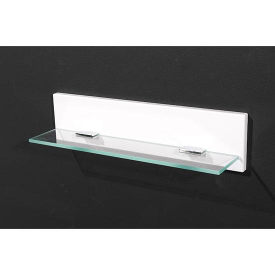 Liquid High Gloss Small Wall Mounted Bathroom Shelf