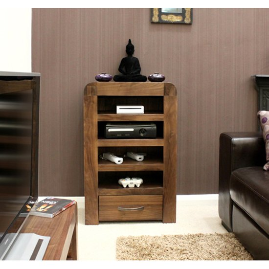 Shiva Walnut Entertainment Unit