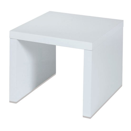 Universal White High Gloss Lamp Table
