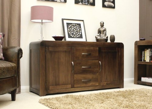 Shiva Walnut Large Sideboard