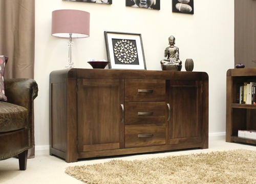 Shiva Walnut Large Sideboard 8836 Furniture in Fashion