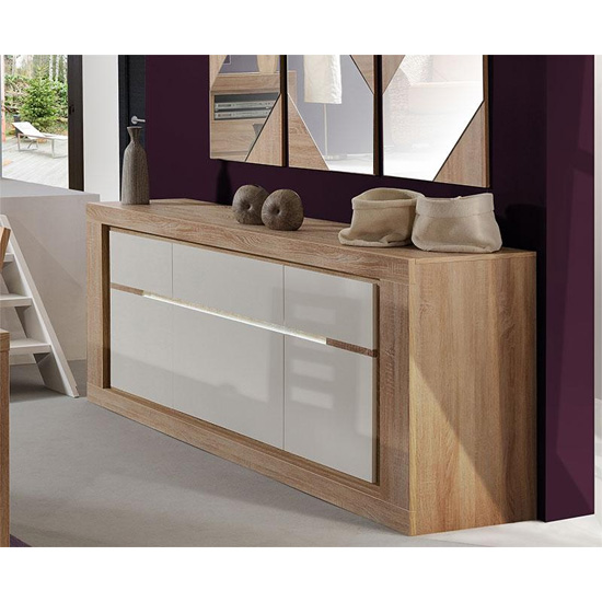 Sideboard colours 39 cream 39 page 1 furniture dining - Cream high gloss living room furniture ...