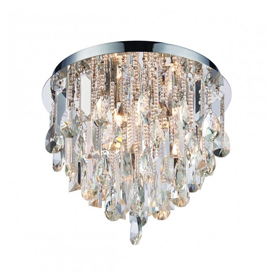 Siena Chandelier Style Three Ceiling Light