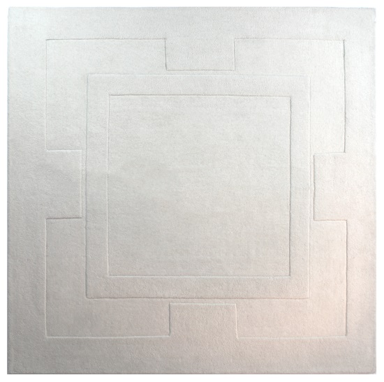 Sierra Apollo Ivory Square Rug
