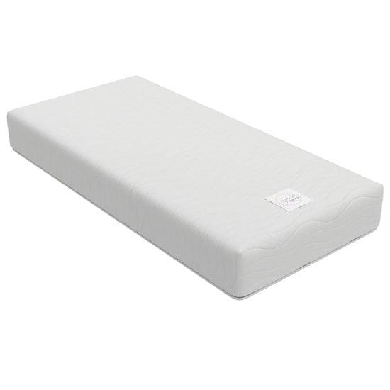 View Signature contour 9 memory form single mattress in white
