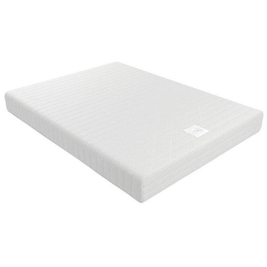Signature Contour 8 Memory Form Double Mattress In White