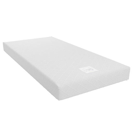 View Signature essential 6 memory foam single mattress in white