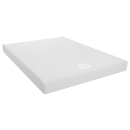 Signature Essential 6 Memory Foam Double Mattress In White