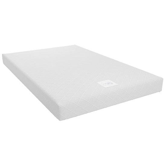 View Signature essential 6 memory foam small double mattress in white
