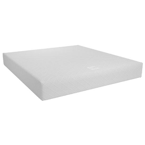 View Signature memoir 10 memory foam super king mattress in white