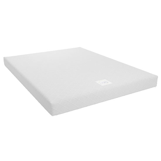 Signature Memoir 6 Memory Foam King Size Mattress In White_1