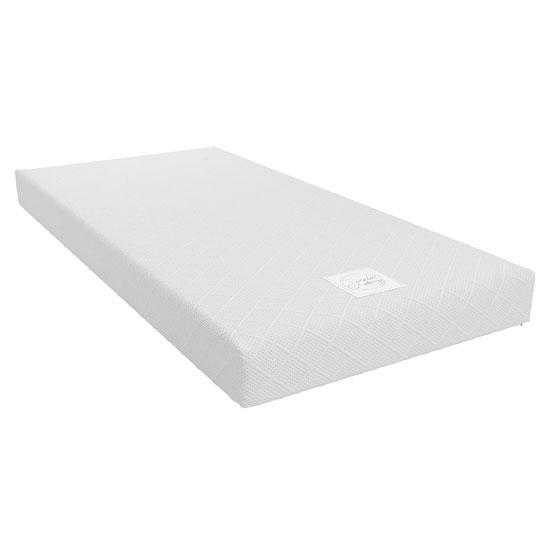 View Signature memoir 6 memory foam single mattress in white