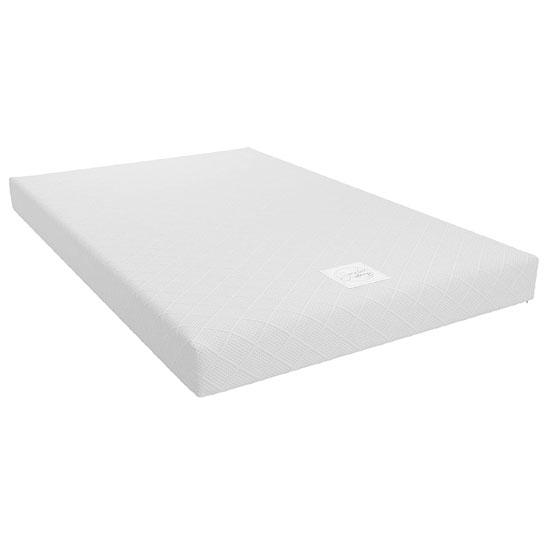 View Signature memoir 6 memory foam small double mattress in white