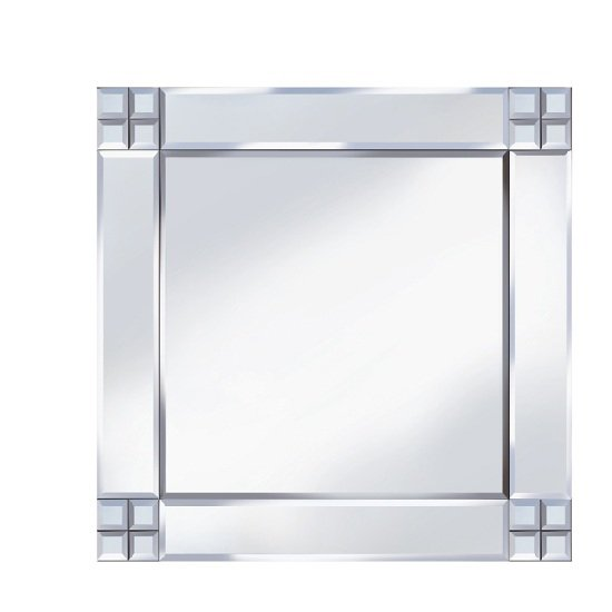 Multi-Square Design 60x60 Decorative Mirror