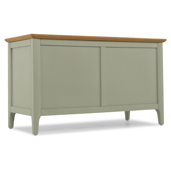 Simona Wooden Blanket Box In Sage Green_1
