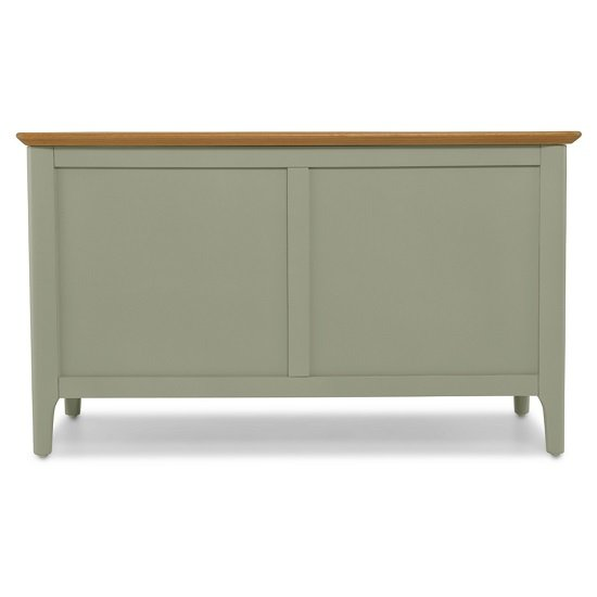 Simona Wooden Blanket Box In Sage Green_3