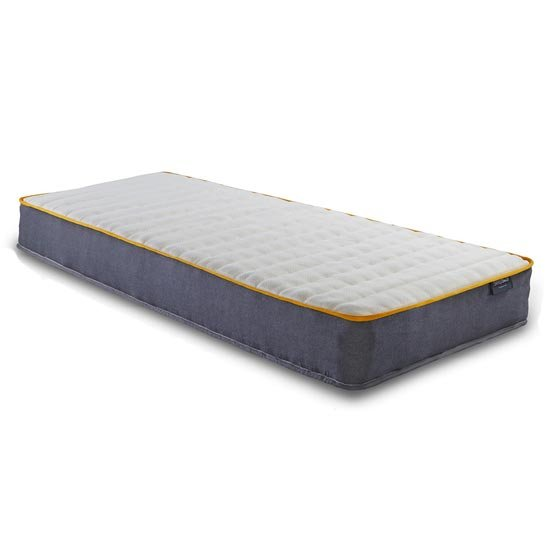 SleepSoul Comfort Pocket Sprung Single Mattress In White