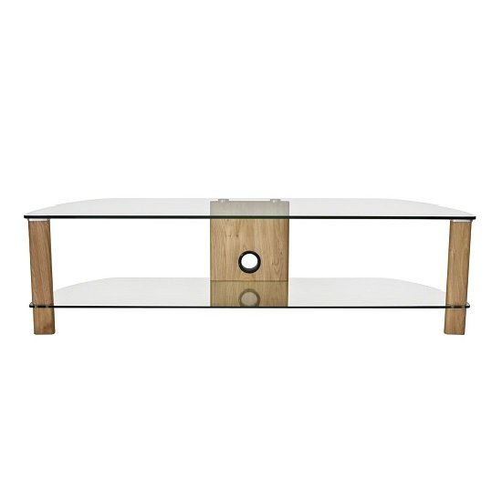 Sligo Large LCD TV Stand In Light Oak