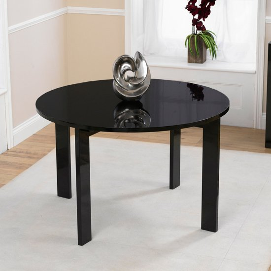 Cheap Black Dining Table And Chairs: Buy Cheap Gloss Round Dining Table