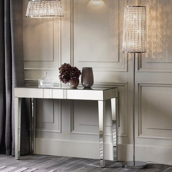 Sophia Floor Lamp With Polished Silver Metal Frame_2