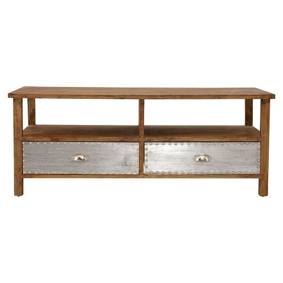 Sophia Wooden Coffee Table With 2 Drawers