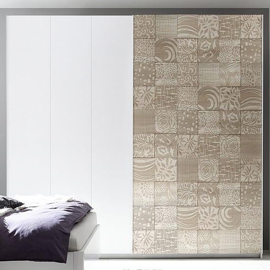 View Soxa serigraphed wooden sliding door wardrobe in sonoma oak