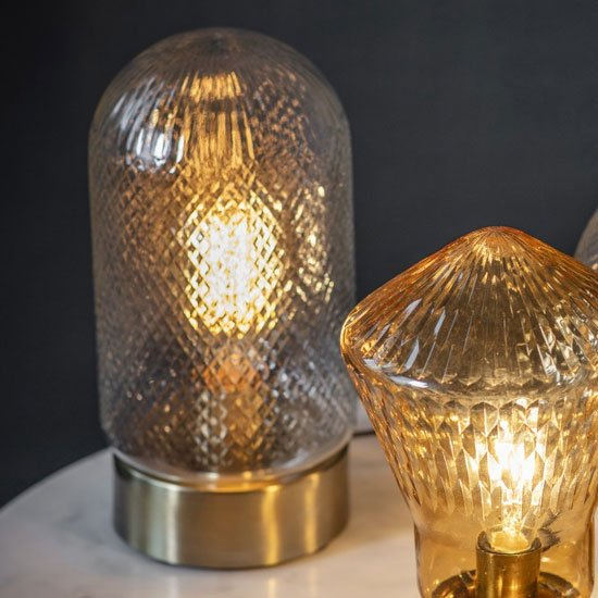 Spalding Table Lamp In Gold
