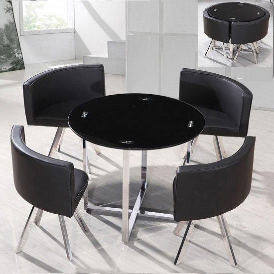 Buy cheap round dining table and 4 compare furniture for Best deals on dining tables and chairs