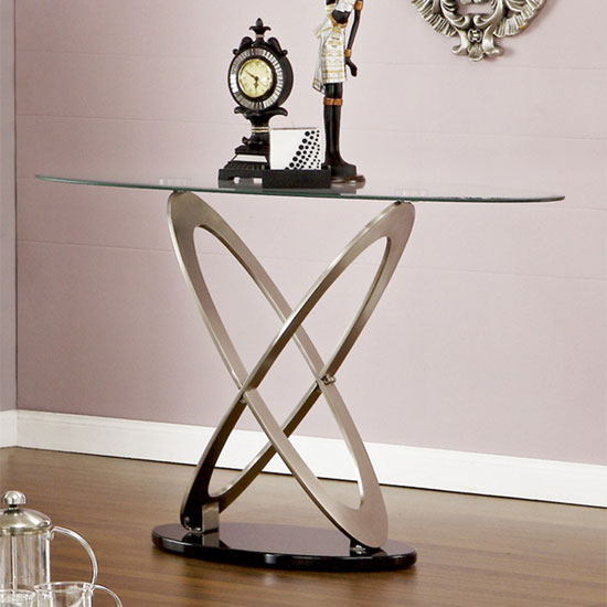 large glass console table uk sphere with shelf black drawers