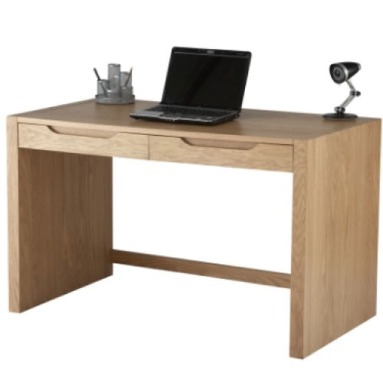Splice Home Office Computer Desk In Oak_1
