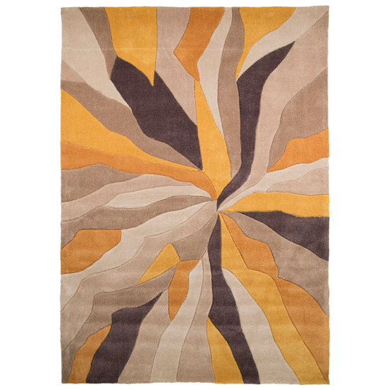Infinite Splinter Ochre Rug_3