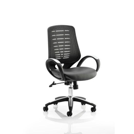 Sprint Silver Office Chair