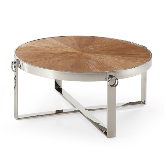 Stafford Wooden Coffee Table In Ash Veneer