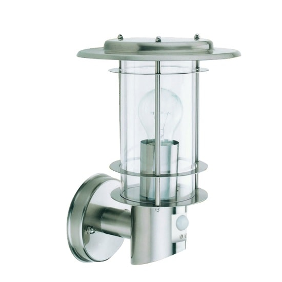 Stainless Steel Outdoor Light With Motion Sensor