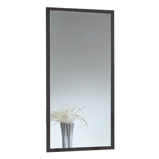 Stockholm Wall Mirror In Graphite Frame_1