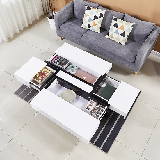 Storm Storage Coffee Table In White And Black High Gloss_2