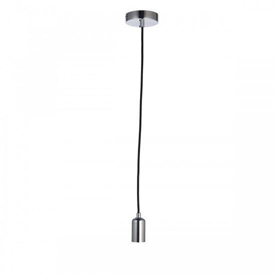 Studio Wall Hung Pendant Light In Chrome
