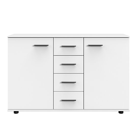 Susan Large Wooden Sideboard In White