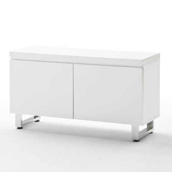 Sydney 2 Door Cabinet In High Gloss White 19689 Furniture