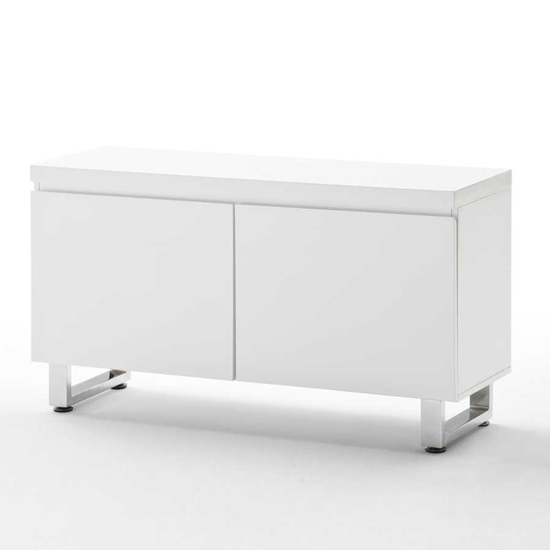 Read more about Sydney 2 door cabinet in high gloss white