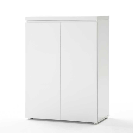 Sydney 2 Door Storage Cabinet in High Gloss White : sydneystoragecabinetwhite47101w from furniturecompare.uk size 550 x 550 jpeg 9kB