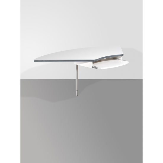 Profi Light Grey Corner Joint Table, 0652-69